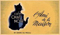 Café chat noir : L'ami de la maison | by Ωméga *