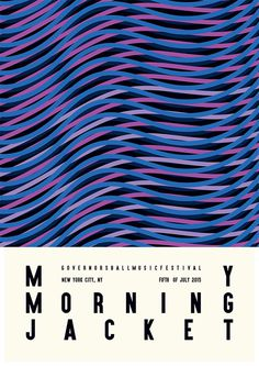 My Morning Jacket Artwork / Posters by James Kirkup