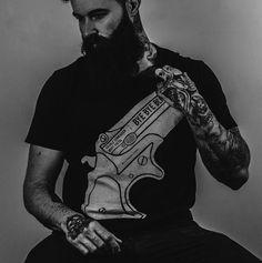 Triggerman: Shaun Garvey #graphicdesign #design #print #t-shirt #guns #tee #fashion
