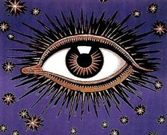 tumblr_lhpej8EvpV1qd0ario1_500.jpg (500×405) #eye #illustration #voodoo