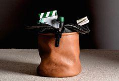 Refresh Dopp Kit by Hard Graft #tech #flow #gadget #gift #ideas #cool