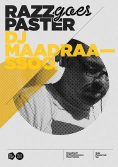 Razz Goes Paster – Poster design