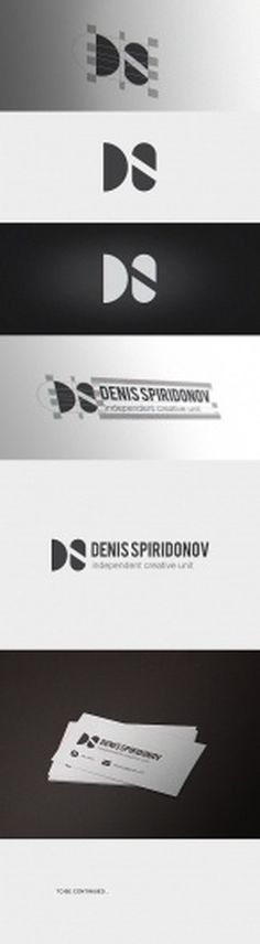 DENIS SPIRIDONOV Self branding on the Behance Network #logo #selfbranding