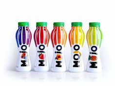 MOJO Yogurt | Packaging of the World: Creative Package Design Archive and Gallery #mojo