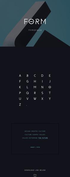 Form Free Font
