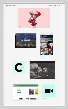 Digital & UI Portfolio - Janos Koos #digital, #interactive #ui #userinterface, #artdirection, #creative, #portfolio #web #website, #fashion,