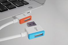 Infinite Stacking USB | HUH. #usb #design #tecnology #idea #technology