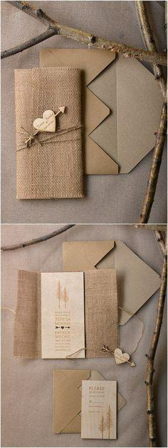 Cute Envelope Invitation Card