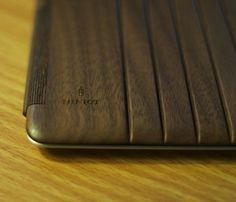 Wood iPad Cover