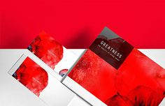 Greatness on Behance #illustration #design #red #posters