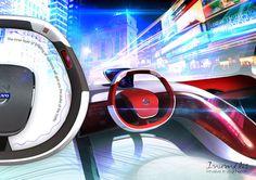 Inumflis Car #tech #amazing #modern #innovation #design #futuristic #gadget #ideas #craft #illustration #industrial #concept #art #cool