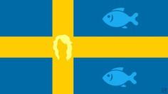 Swedish flag by Frederatic