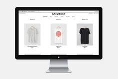 Saturday Saturday by Bureau Burger #web design #website
