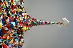 FFFFOUND! | Confetti Death at Street Anatomy #color #puke #oposite #skull #stuff