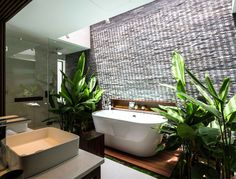 Exotic Luxury Naman Villa in Vietnam - #bath, #interior, #decor, home, bathroom