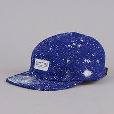 Flatspot - THE QUIET LIFE COSMOS 5 PANEL CAP BLUE #panel #cap #hat #5 #fashion