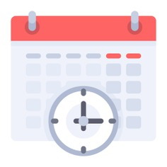See more icon inspiration related to time, clock, watch, wall calendar, calendars and interface on Flaticon.