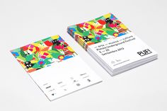I Depend On Me PUF!™ Festival #print #identity #graphic #stationary