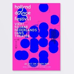 Holland Dance Festival 2009 on the Behance Network #silo #dance #poster