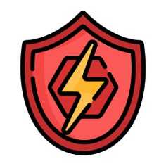 See more icon inspiration related to hero, superhero, comic, shield, heroe, thunder and security on Flaticon.
