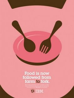 designpiration #pink #adv #ibm #food