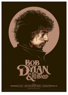GigPosters.com - Bob Dylan #illustration #gig poster #bob dylan #concert