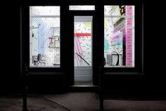 YMS beauty salon entrance exterior #interior #salon #modern #youthful #artistic #beauty
