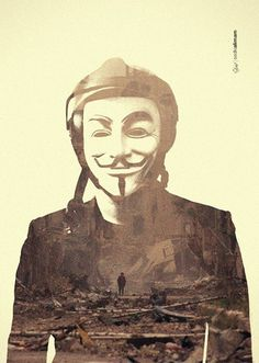 About today #v #syria #war #kid #child #destruction #exposure #today #fawkes #mask #double #poster #time #for #vendetta #guy
