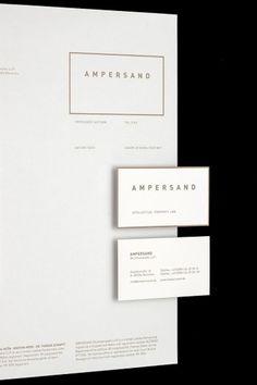 Ampersand Rechtsanwälte #stationary #branding