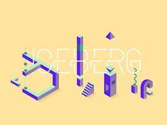 Iceberg from regularbolditalic.com #type #typography #font #iceberg #regular #bold #italic
