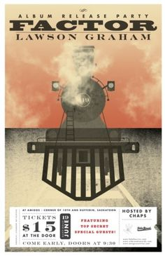 Andrew McAlpine ///// Graphic Design //////// #train #illustration #factor #poster