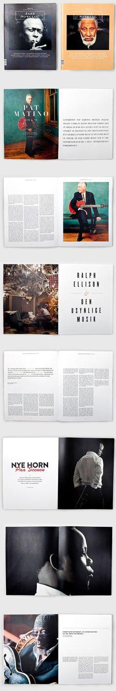 Jazz Special Magazine on Behance #jazz #behance #special #magazine