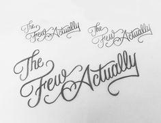 Hand drawn typography by Jenna Bresnahan #lettering #customtype #handtype #handlettering #typography #type #handdrawntype