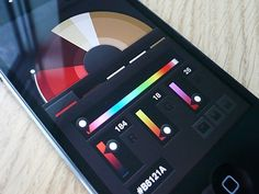 Interface design inspiration #color #mobile #ui design