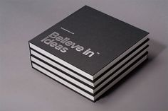 Believe in   Identity Designed #white #silver #print #in #black #sketchbook #believe #grid #stationery #foil
