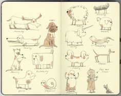 Mattias Inks #sketches #dogs #illustration #cute #doodles #character