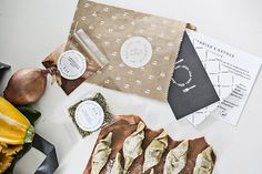 StitchDesignCo_GarnishGather_01 #packaging #design #graphic #nature #identity