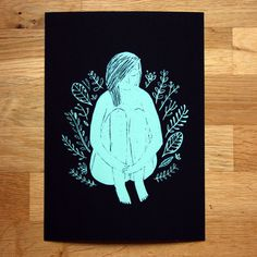 Botanic II giclée print #illustration