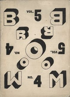 MoMA.org | The Collection - El Lissitzky #typography