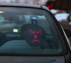 Drivemotion LED Car Sign #gadget