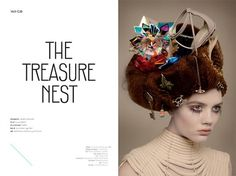 The Treasure Nest | Volt Café | by Volt Magazine #beauty #design #graphic #volt #jewellery #photography #art #fashion #layout #magazine #typography