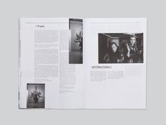 Studio Iknoki #design #monochrome #layout #editorial #magazine #typography