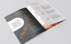 emerchantpay. Brochure design and brand identity created by Southampton design agency Faculty Creative. #brochure #6pp