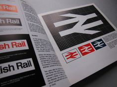 British Rail Design Book #british #design #graphic #book #corporate #james #identity #rail #cousins