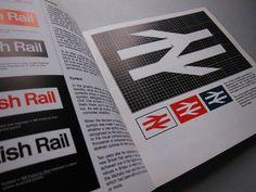British Rail Design Book #graphic design #book #corporate identity #british rail #james cousins