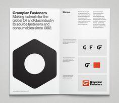 Grampian Fasteners Colin Bennett #print #identity