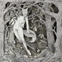 Las narrativas cajas de luz de Daria Aksenova - Ilustración