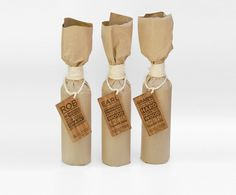 Thank you Gifts on the Behance Network #packaging #bottle