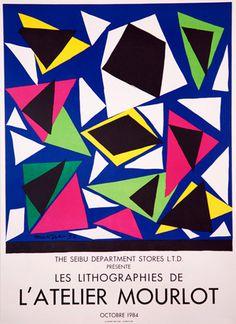 Henri matisse - Les Lithographies de L'Atelier Mourlot from kingandmcgaw.com