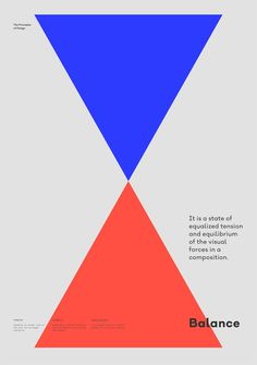 Balance – The Principles of Design poster serie by Gen Design Studio